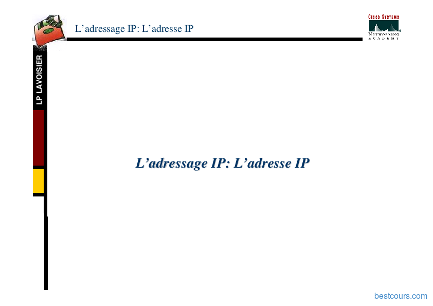 pdf  adressage ip cours et formation gratuit