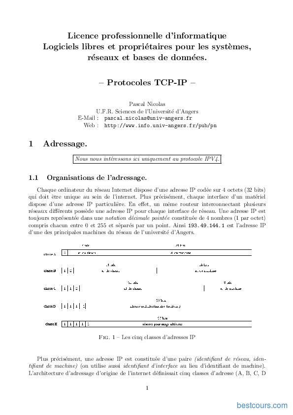 pdf  protocoles tcp