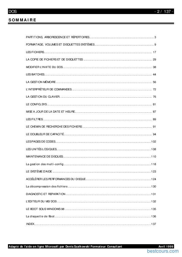 DOS GRATUITEMENT MS TÉLÉCHARGER 6.22