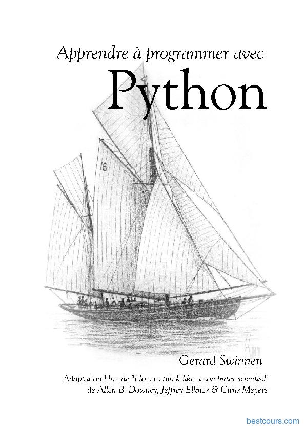 python pour les nuls pdf gratuit