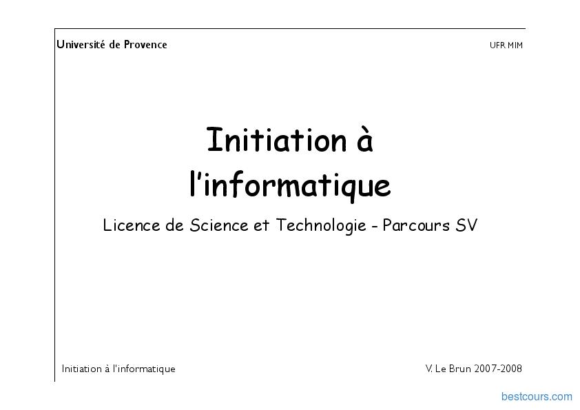 pdf  initiation  u00e0 l u2019informatique cours et formation gratuit