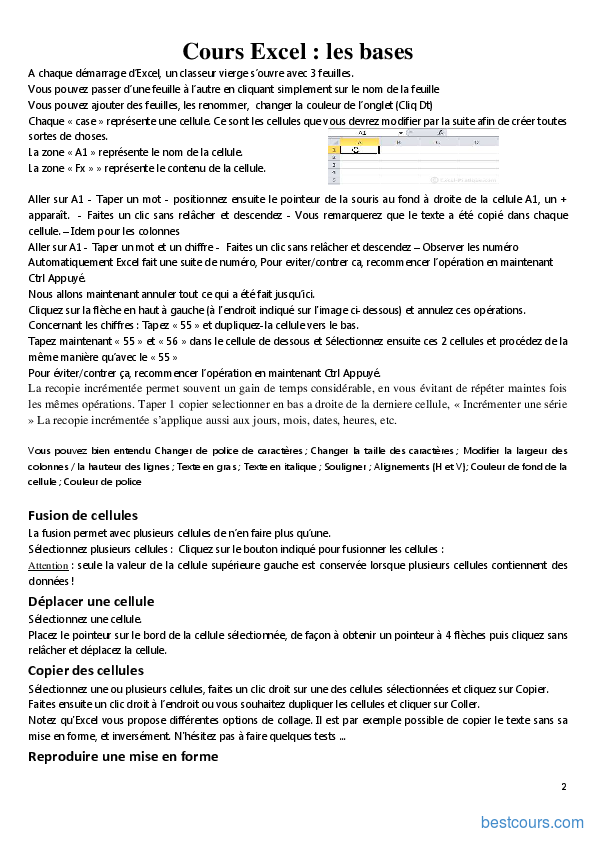 Immunologie approfondie cours pdf excel