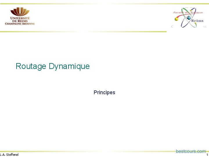 Tutoriel Routage Dynamique 1