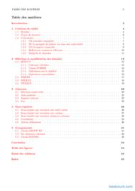 Tutoriel Rudiments SQL pour Oracle 2