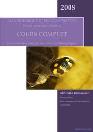 Tutoriel Algorithme et programmation 1