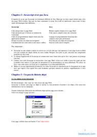 Tutoriel Apprendre le Javascript 2