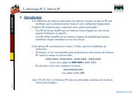 Tutoriel Adressage IP 2