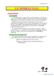 Tutoriel Modèle OSI 1