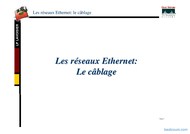 Tutoriel Les réseaux Ethernet : Le câblage 1