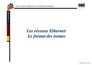 Tutoriel Les réseaux Ethernet: Le format des trames 1