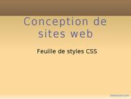 Tutoriel Cours CSS 1