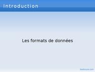 Tutoriel Introduction xml 2