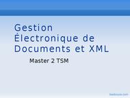 Tutoriel Introduction xml 1