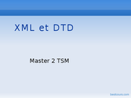 Tutoriel xml et dtd 1
