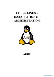 Tutoriel Linux Installation et Administration 1
