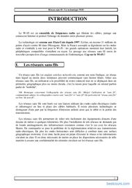 Tutoriel Réseau Sans-fil : Wifi 2