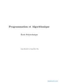 Tutoriel Programmation et Algorithmique 1