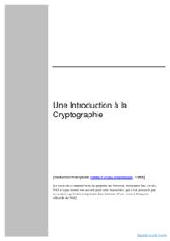 Tutoriel Introduction à la Cryptographie 1