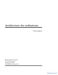Tutoriel Architecture des ordinateurs 1