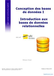 Tutoriel Introduction aux bases de données relationnelles 1