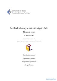 Tutoriel Méthode d'analyse orientée objet UML 1
