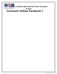 Tutoriel Comment utiliser Facebook 1