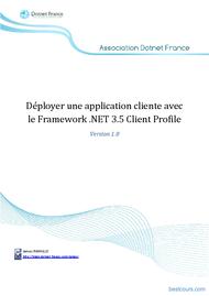 Tutoriel Déploiement d'application .NET 1