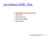 Tutoriel Les réseaux GSM-DCS 2