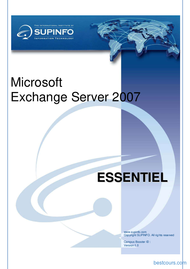 Tutoriel Exchange Server 2007 1