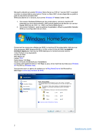 Tutoriel Windows Home Server 2