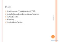 Tutoriel Administration Serveur HTTP 2