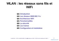 Tutoriel WiFi et sans fils (WLAN) 2