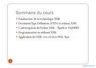 Tutoriel Introduction à XML 2