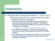 Tutoriel SSH - Secure SHell 2