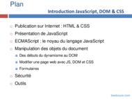 Tutoriel JavaScript, DOM et CSS 2