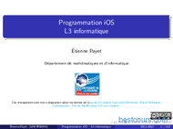 Tutoriel Programmation iOS 1