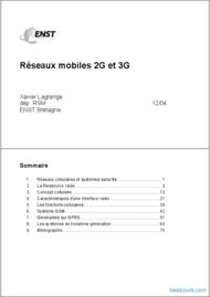 Tutoriel Réseaux mobiles 2G et 3G 1