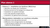 Tutoriel Introduction aux systèmes GNU/Linux - Séance 2 2