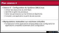 Tutoriel Introduction aux systèmes GNU/Linux - Séance 4 2