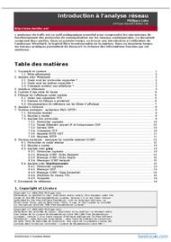 Tutoriel Analyse réseau 1