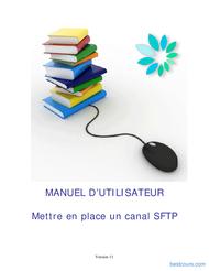 Tutoriel Mettre en place un canal SFTP 1