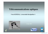 Tutoriel Télécommunications optiques 1