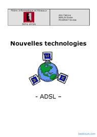 Tutoriel La technologie ADSL 1