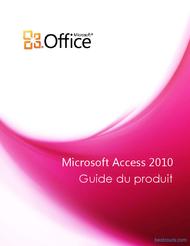 Tutoriel Guide Microsoft Access 2010 1