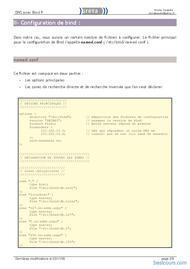 Tutoriel DNS avec Bind9 sous linux 2