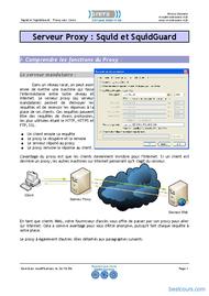 Tutoriel Squid : Serveur Proxy sous Linux 1