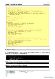 Tutoriel Contrôleur de domaine Samba 2