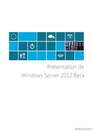Tutoriel Présentation de Windows Server 2012 1