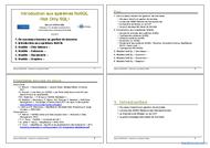 Tutoriel Introduction aux systèmes NoSQL 1