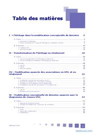 Tutoriel Conception des bases de données relationnelles 2